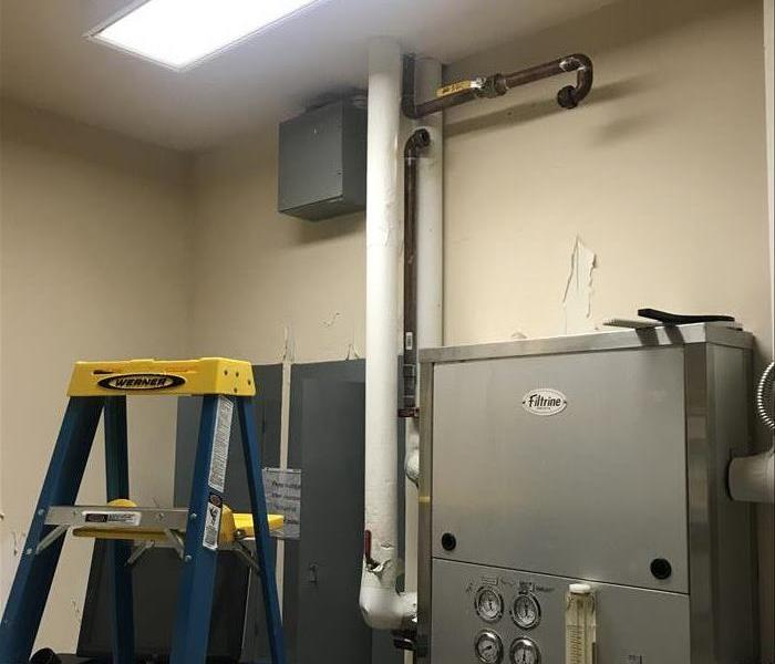 Commercial Water Loss At A Medical Facility After