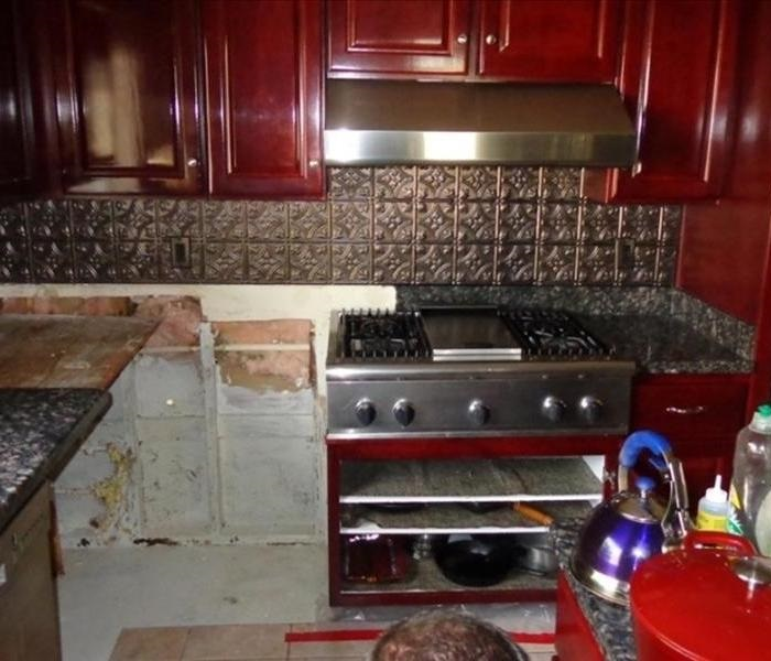 Scottsdale Kitchen Mold Remediation Before