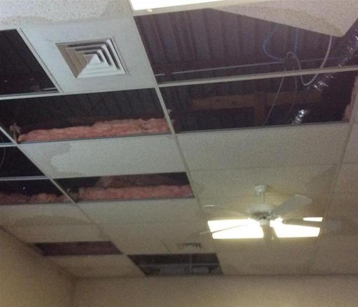 Storm Damage - Avondale Commercial Property Before