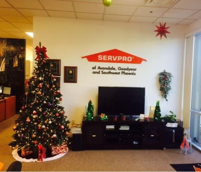 It's Christmas Time at SERVPRO