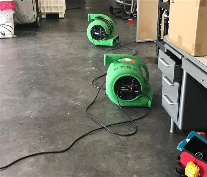 Drying During Commercial Water Loss