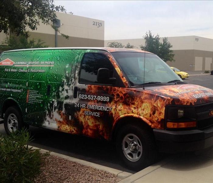 New Van Servpro Of Avondale Goodyear Southwest Phoenix